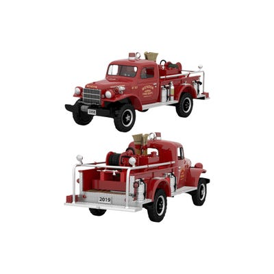 1958 Dodge Power Wagon Fire Engine Hallmark Keepsake Ornament