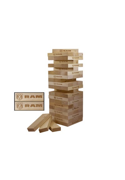 Giant Wooden Tumble Tower