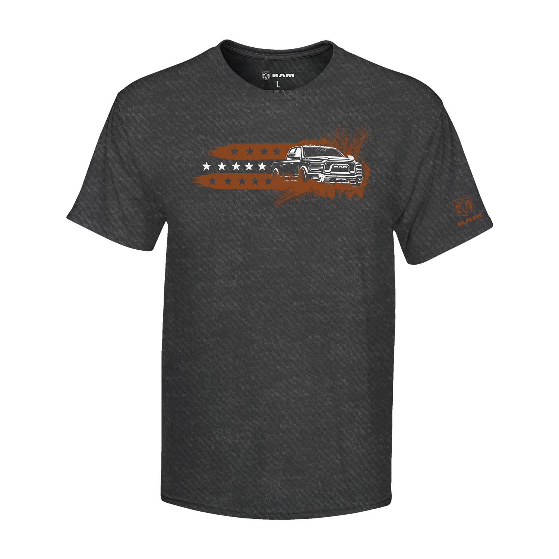 Men's Muddin Truck Stripe T-shirt