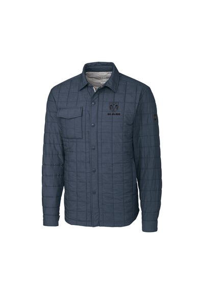 Men's Wind and Water Resistant Shirt Jacket